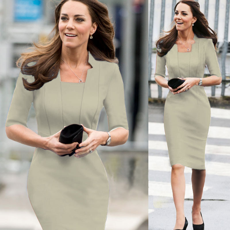 2016-new-style-summer-dress-kate-middleton-same-style-celebrity-formal-party-evening-elegant-ladies-dresses