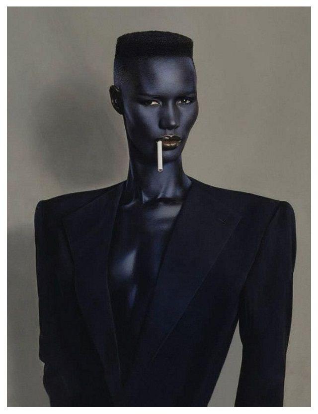 Grace Jones androgynous style