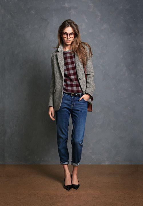 androgynous boyfriend jeans