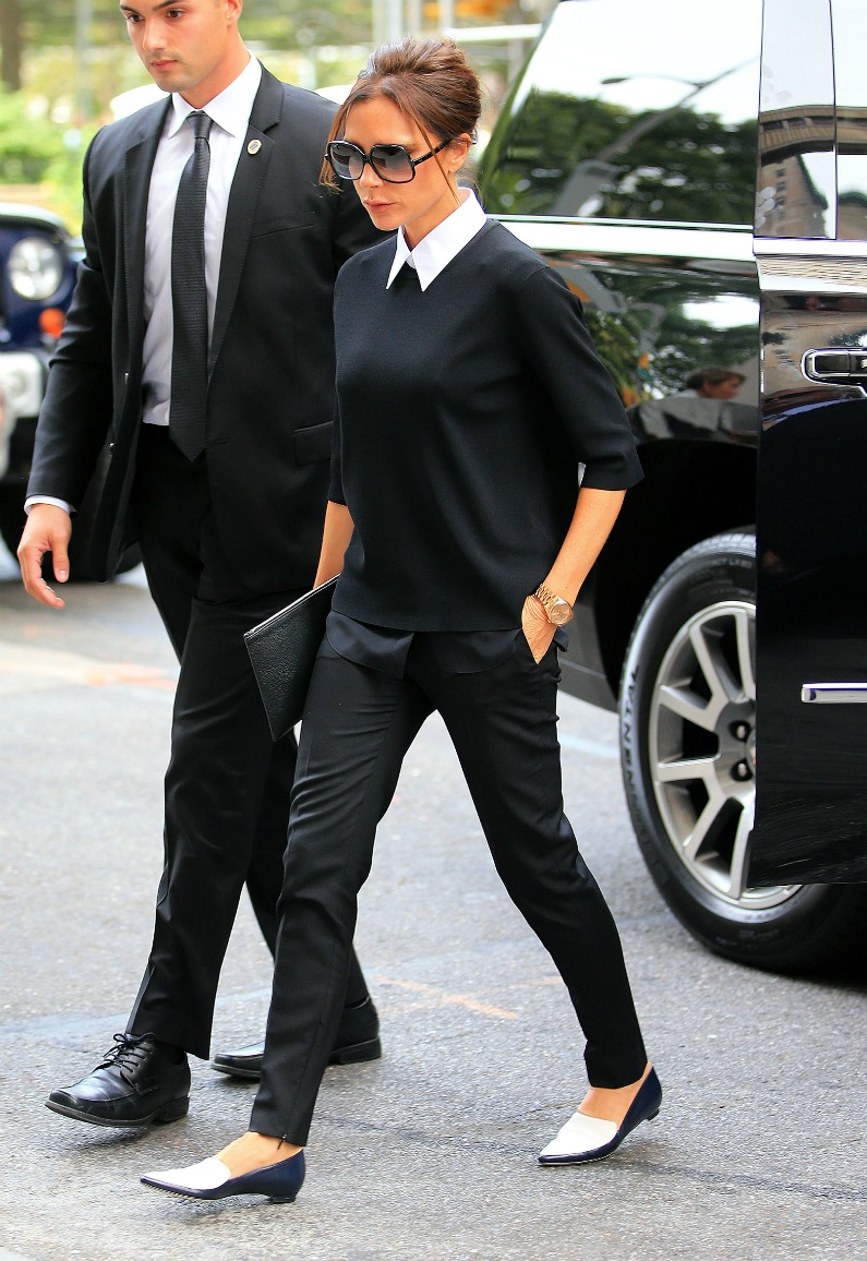 Victoria Beckham is the queen of working style