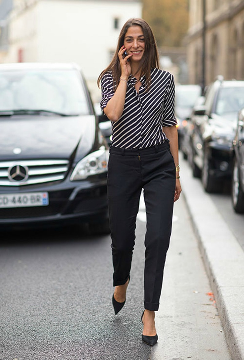 Work in stripes
