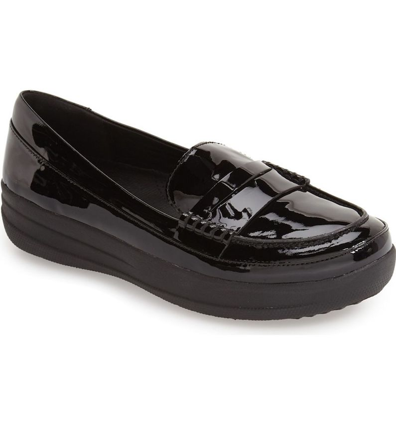 FitFlop Leather Penny Loafer