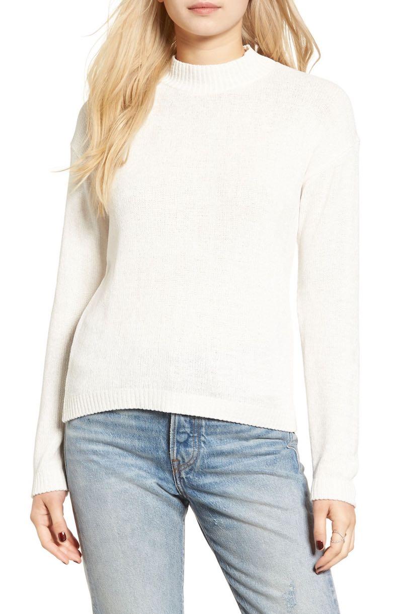 Cotton Emporium Chenille Pullover
