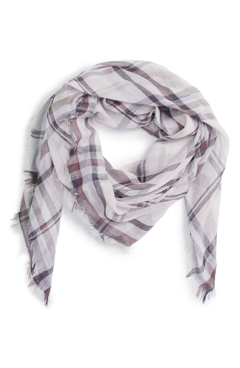 BP. Plaid Scarf