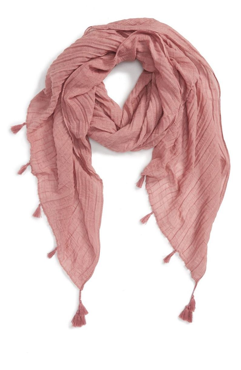 BP. Pleated Scarf