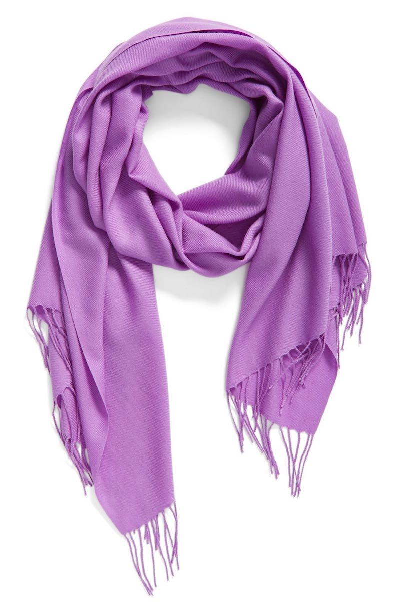 Tissue Weight Wool & Cashmere Scarf