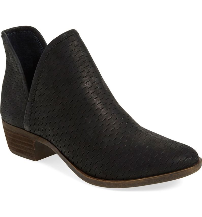 Lucky Brand 'Bashina' Perforated Bootie