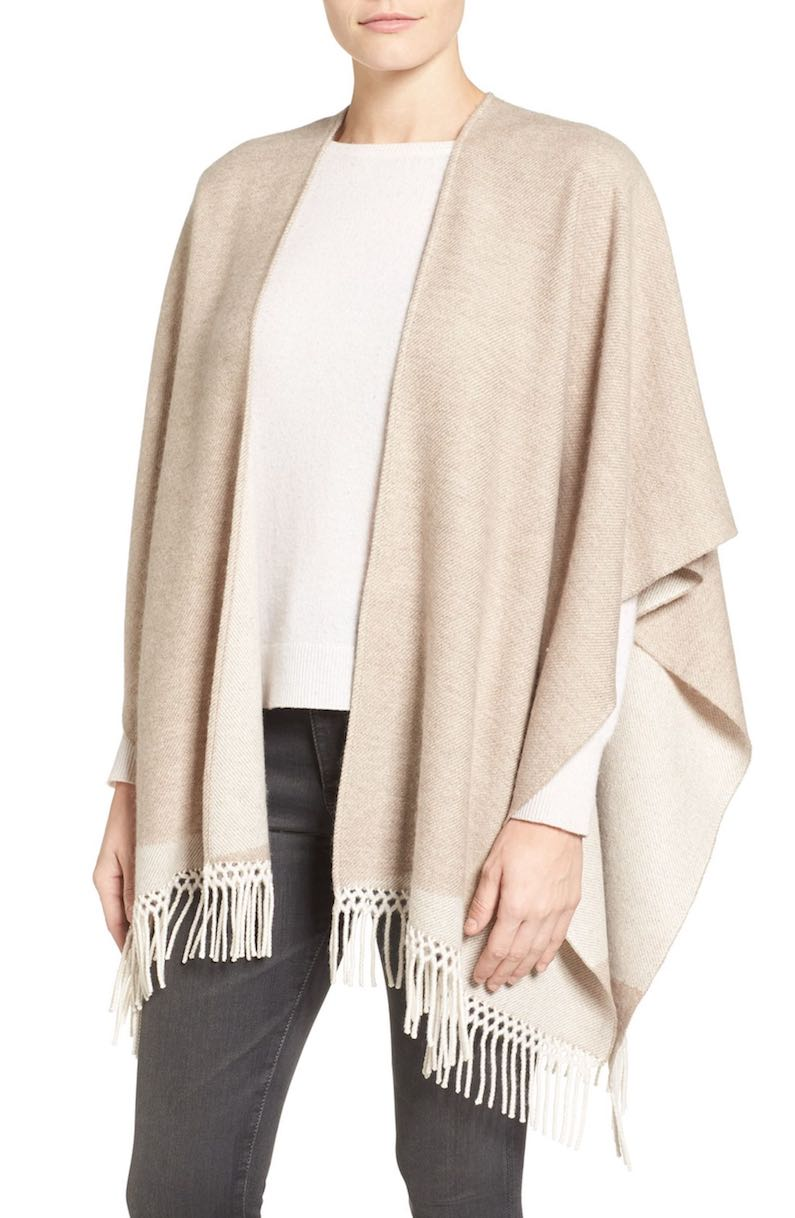 Nordstrom Collection Cashmere Cape