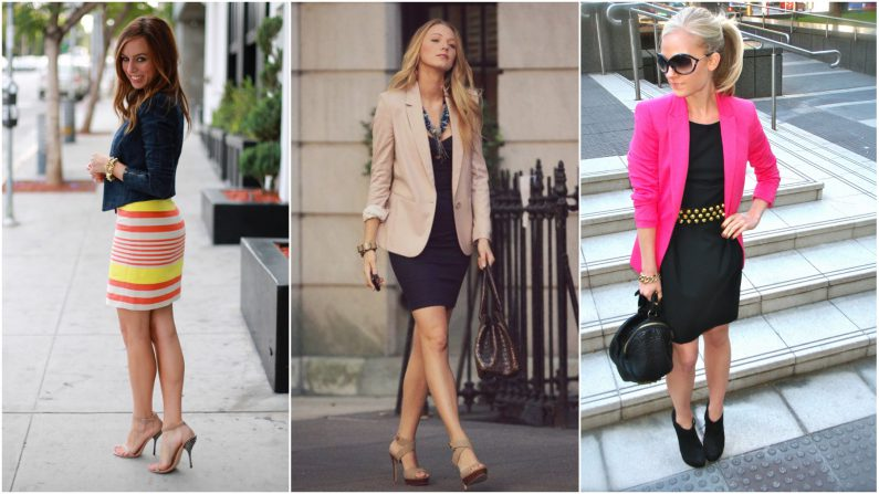 jackets with dresses