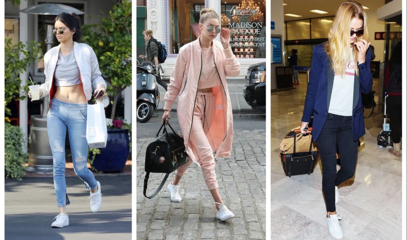 7 ways to style white sneakers