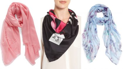 style up your coats with scarves