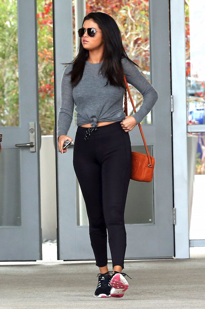 athleisure celebrities gym clothes