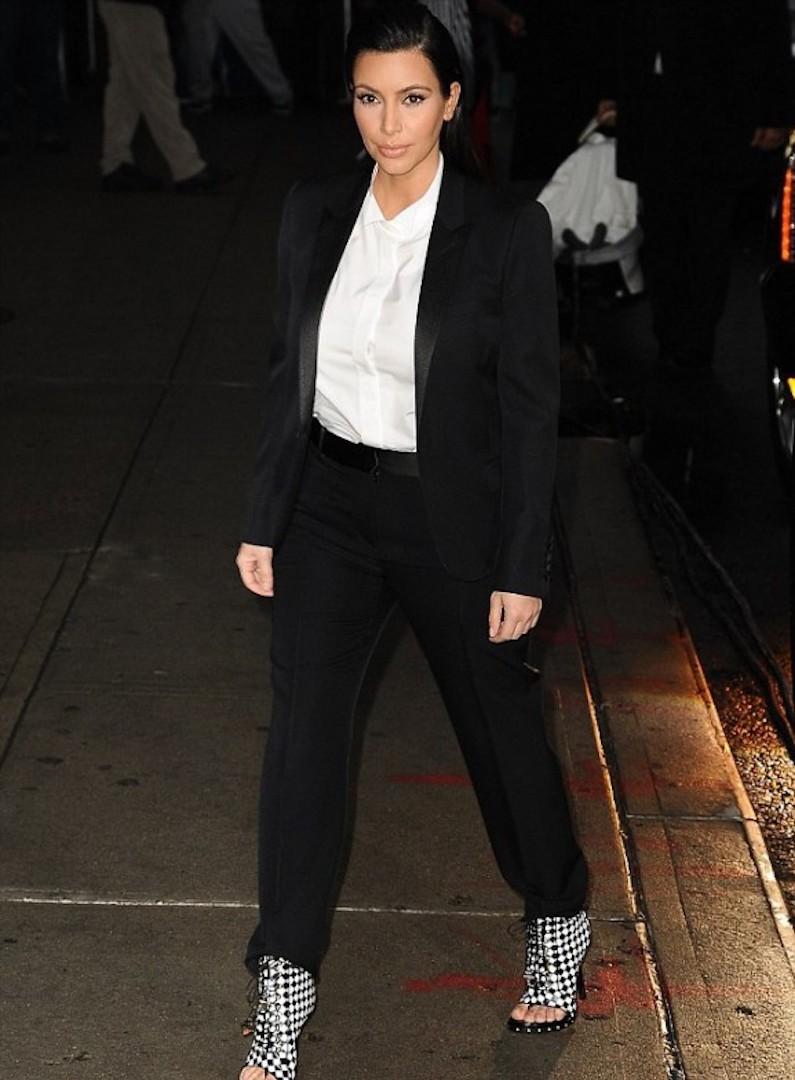 Kim Kardashian ankle boots
