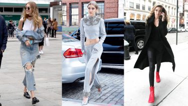 gigi hadid mark her outfits