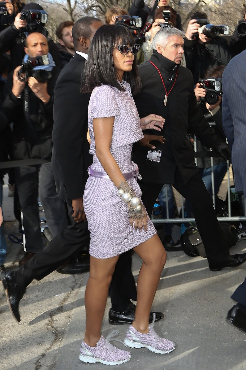 rihanna rate her outfit