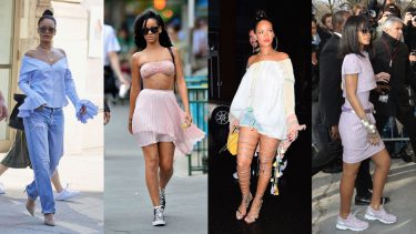 rihanna rate her outfits