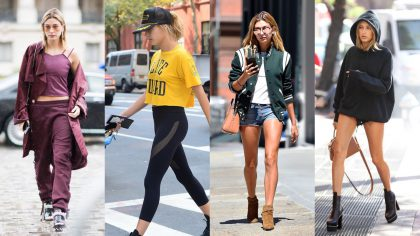 Hailey Baldwin rate outfits